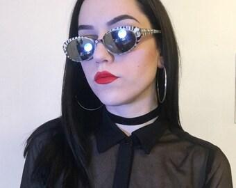 Zebra Mirror Lens Sunglasses