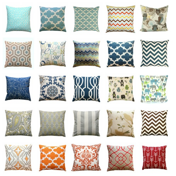 Decorative Pillows Outlet : CLEARANCE Throw Pillow Covers Decorative Pillows Cheap