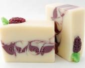 Blackberry Smoothie Luxury Olive Oil Soap with Avocado Oil and Shea Butter