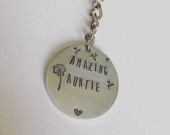 Amazing Auntie key ring...