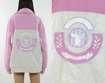 Two Tone Pink and White Jacket