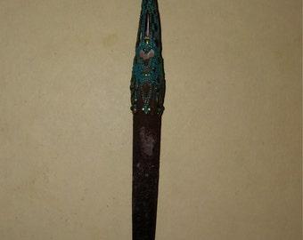 Sea urchin spine, boho, taxidermy jewelry, sea wear, sea urchin, ooak, urchin