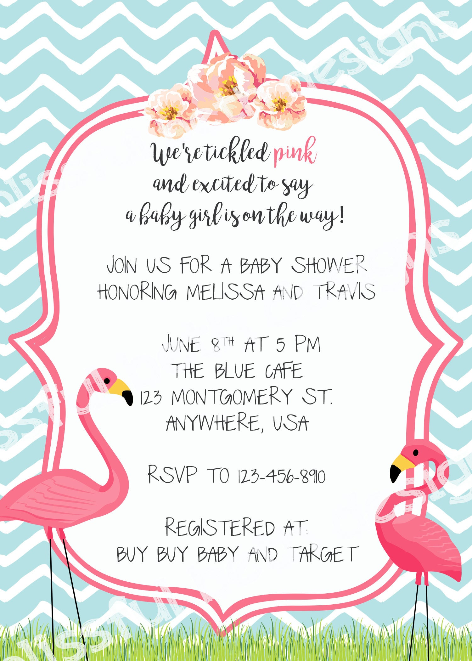 flamingo baby shower tickled pink baby shower invitation flamingo invitation flamingo baby shower flamingo flamingo shower baby