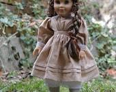 Prairie Dress for American Girl 18 inch doll Kirsten