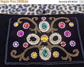 Now On Sale Vintage Bling Acrylic Stone Purse 1980's Rockabilly Accessories Retro Clutch Handbag Bag Glamour Girl Rockabilly Style