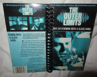 "The Outer Limits ""Demon with a Glass Hand"" VHS Tape Box Notebook"