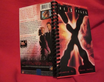 X Files VHS notebook (Conduit/Ice)