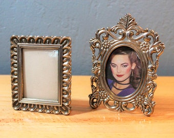 Small Silver Photo Frames - Silver Plated Picture Frame