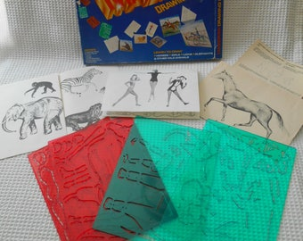 Magidraw Stencil Drawing Set Boxed Set Toy Childrens
