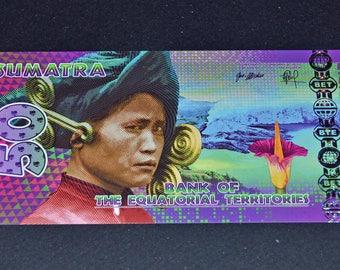Banknote Equatorial Territories uncirculated