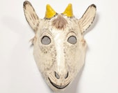 New Year kid goat paper mask