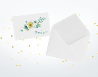 Thank You Greeting Cards (Set Of 50)