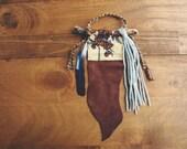 Custom Word of the Year Gypsy Altar Prayer Flag