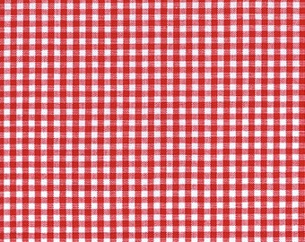 Gingham -  1/8 Inch Small Crimson Red Gingham from Robert Kaufman's Carolina Gingham Collection - P-5689