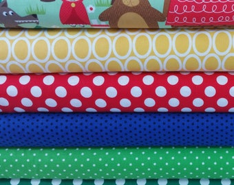 Into The Woods Fairy Tale Bundle (6 Fabrics)