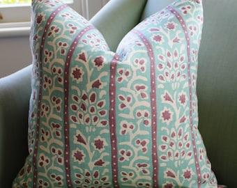 Hill Brown Treille Pillow Cushion Cover. 20 Inch