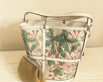 Gucci / Small Tote / 60s / Bucket Bag / Floral / Designer Handbags / Gucci Flower