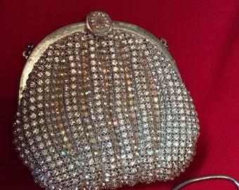 Dazzling Delill rhinestone purse
