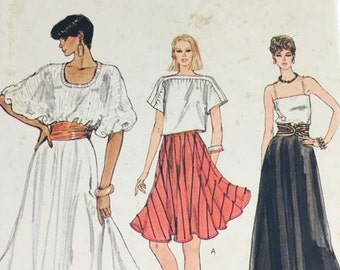 Very Easy Vogue Vintage Skirt Pattern