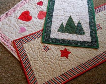 Seasonal Table Runners PDF Quilt Pattern