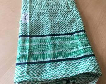 Vintage YVES SAINT LAURENT handkerchief/scarf Cotton 100%