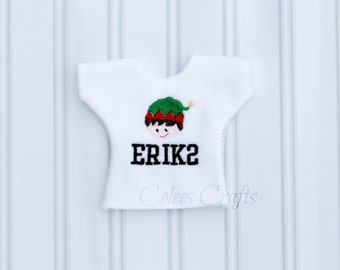 Custom Elf Shirt * Christmas Elf Sweater * Elf Clothes * Elf Costume * Holiday Elf Clothes