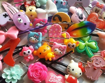SALE Kawaii Hair Clip Grab Bag (5 pcs)