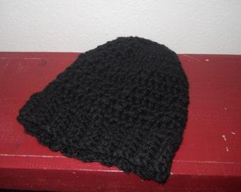 Messy Bun Beanie - ponytail beanie - crocheted beanie - crocheted messy bun beanie - crocheted ponytail beanie - made to order messie bun