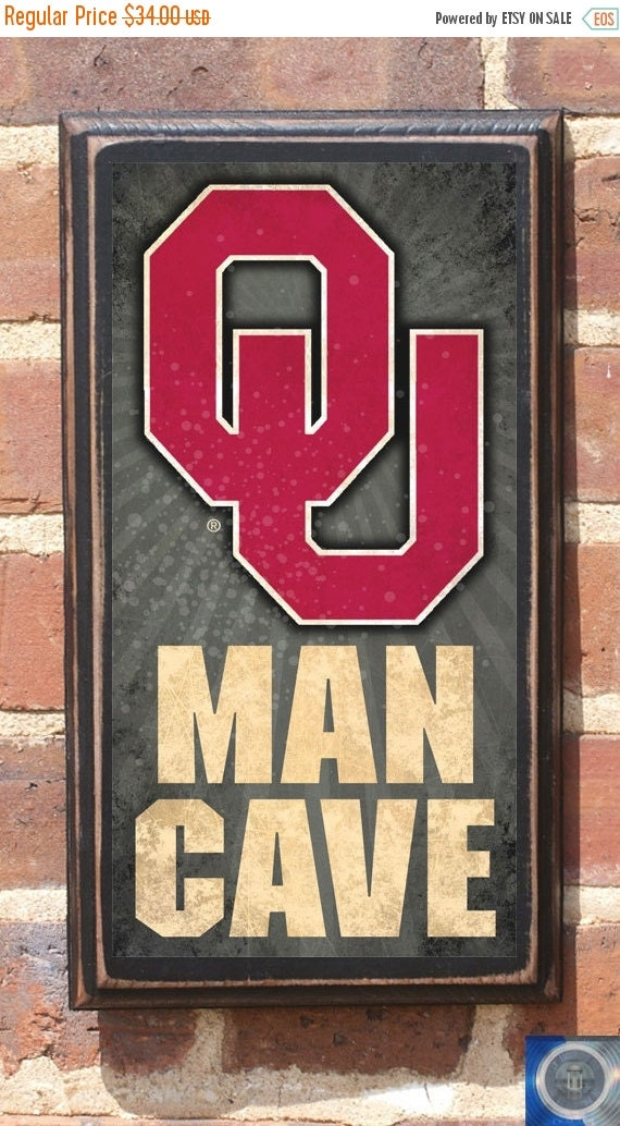 Man Cave Items On Sale : On sale university of oklahoma sooners ou man cave by