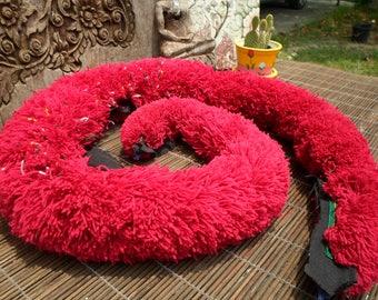 Hmong Trim Boa, Hmong Vintage Textile, Hmong Folk Art, Boa Trim, Yao Hill Tribe