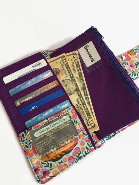 Womens Wallet Fox Wallet Dave Ramsey Money System Money
