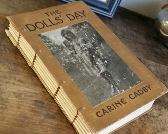 Vintage Book Cover Journal - The Dolls' Day - 5 x 7 by The Orange Windmill on Etsy 1681