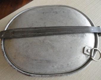 C369)  Antique WWI Mess Kit
