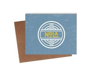 Nola - Blank Card - Digitally Printed A2 Cards w/ envelope