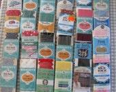 Vintage New Packs of Rick Rack, Jumbo, Regular and Baby, Plus ++