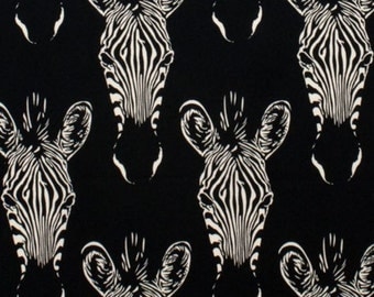 Alexander Henry - Africa - Zahara - Zebra - Black
