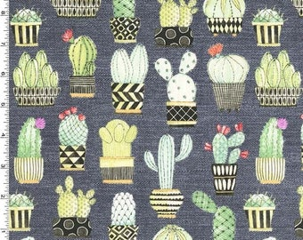 Michael Miller - Cactus Hoedown - Gray