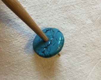 Faux Turquoise Support Spindle