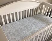 Castle Crib Sheet - 100% cotton