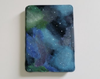 "Hand Painted Galaxy Kindle 6"" Cover"