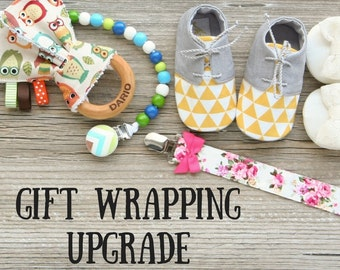 Gift wrapping & Gift note upgrade