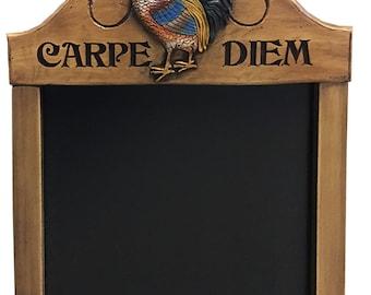 """Carpe Diem """"Seize the Day"""" Kitchen Chalkboard"""