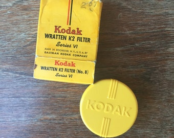 Vintage Kodak Wratten K2  Series VI Skylight Filter