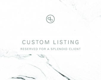 Custom Listing | Cheri Holmes