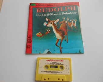 Rudolph the Red-Nosed Reindeer Read-Along Book and Cassette