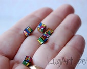 One Rubik's Cube for your dollhouse (5x5mm)