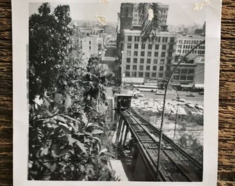 Original Vintage Photograph City Center