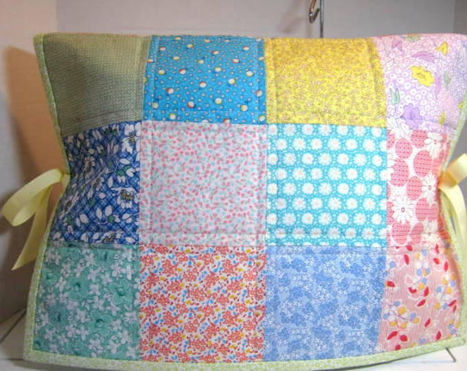 Thirties Fabric Quilted Sewing Machine Protector Dust Cover