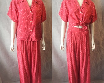 1940s lounge set -summer suit