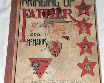 1921 Bringing Up Father Comic Book, by Geo. McManus